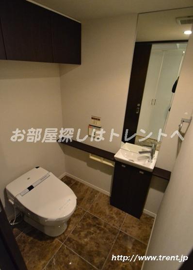 【トイレ】ファーストリアルタワー新宿