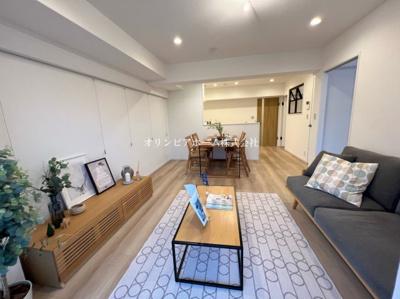 【外観】トーカンマンション大島B棟 4階 リノベーション済