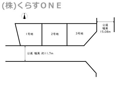 【区画図】神崎郡福崎町南田原/3区画