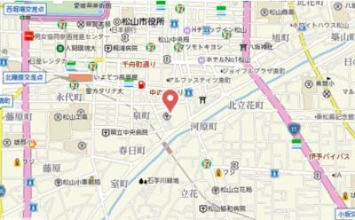 【地図】エクセレント ガーデン