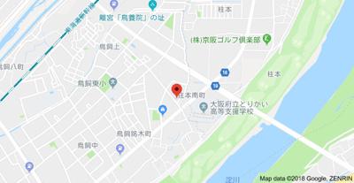 【地図】カメリアハイツA