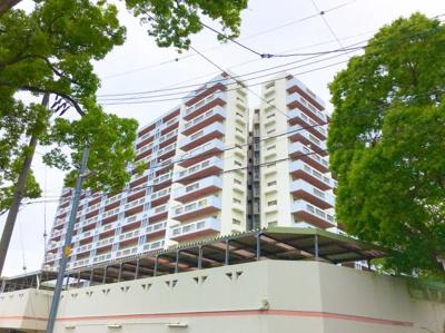 万博公園すぐそばのマンションです♪閑静な住宅地にしっかり歩道もあり、子育て世代の方にオススメです♪