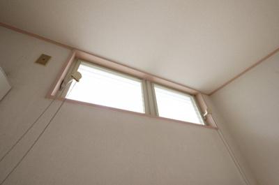換気窓付き