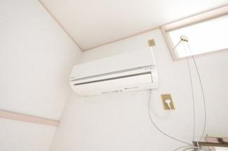 エアコン完備で年中快適生活!