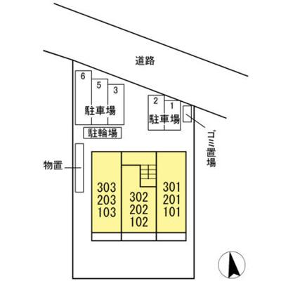 【区画図】レジデンス八木