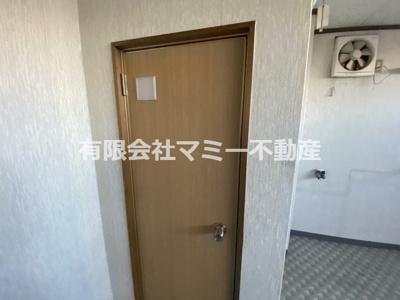 【トイレ】西新地店舗L 3階東側