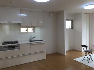 【居間・リビング】松山市 東野 中古住宅 2世帯
