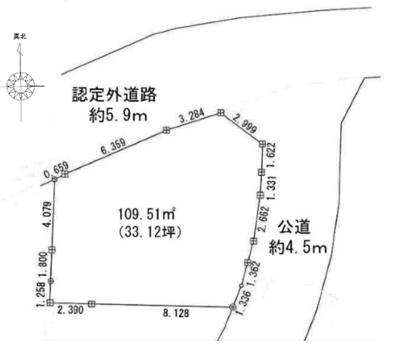 【区画図】JR横浜線 相原駅 緑区町屋3丁目 新築戸建て