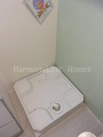 ハーモニーテラス東金町Vの室内洗濯機置き場☆