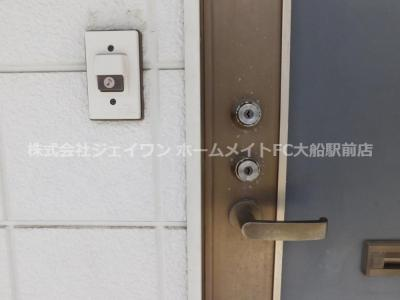 【セキュリティ】第二煤ヶ谷ハイツ