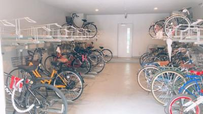 自転車置場!
