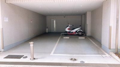 バイク置場!