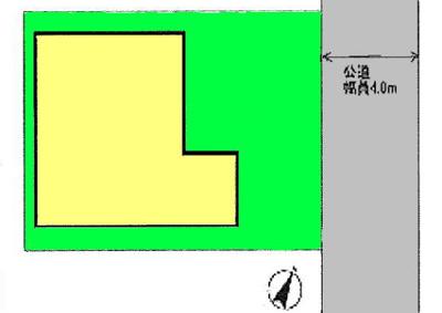 【区画図】桶川市下日出谷 中古戸建