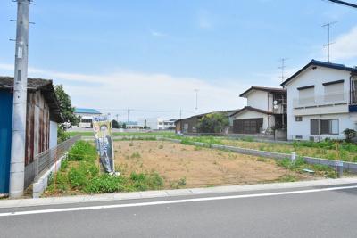 【外観】鴻巣市原馬室 売地2区画