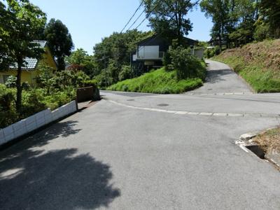 【前面道路含む現地写真】ビラ大山 売地