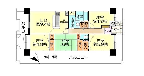 ファミール岸和田ステージ1 中古マンション