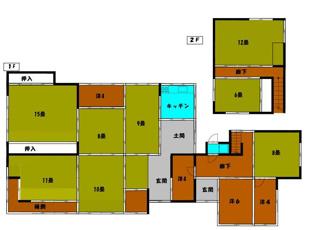 9SLDKのお屋敷です。