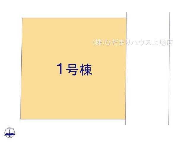 【区画図】伊奈町大針 新築一戸建て リーブルガーデン 01