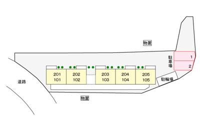 【区画図】サニーヒル富士塚