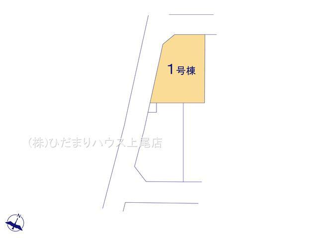【区画図】上尾市平塚 7期 新築一戸建て グラファーレ 01