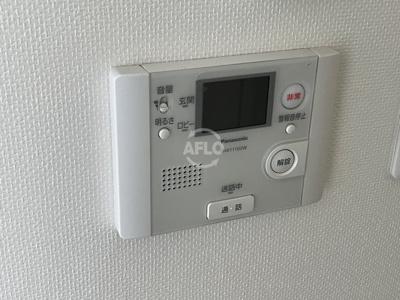 ウィステリア大阪天満宮 モニター付きインターホン