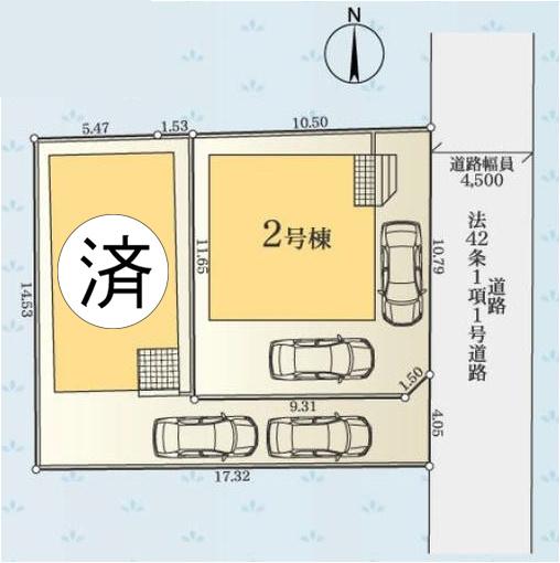 【バルコニー】新築一戸建て「小田原市中里第13」全2棟/残2棟