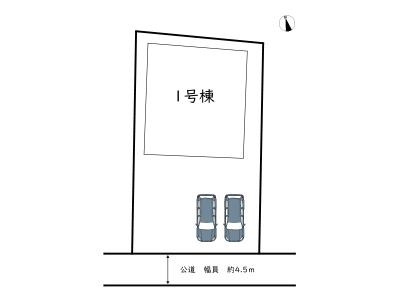 【区画図】姫路市伊伝居/全1棟