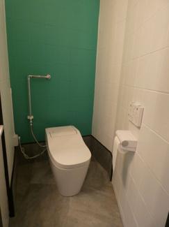 ワコー五反野 トイレを新規設置