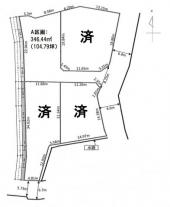 高崎市北新波町分譲地の画像