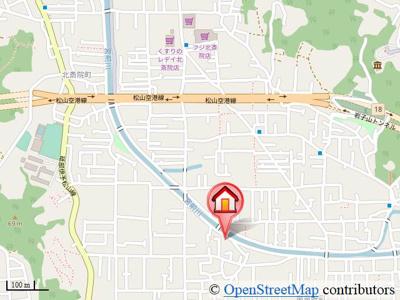 【地図】セフィラメント一色 B棟