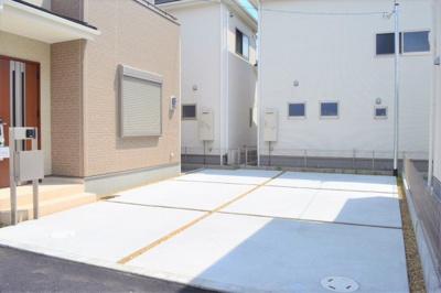 駐車スペース ※参考:同社施工他現場写真