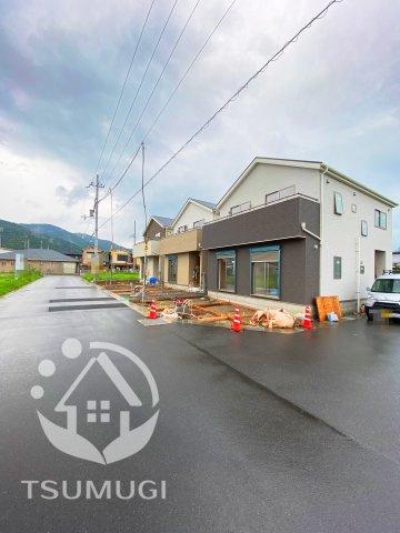 【前面道路含む現地写真】京田辺市薪井手 新築戸建