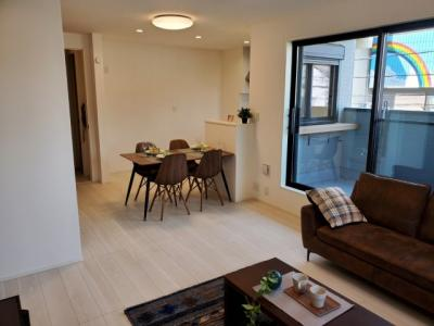 明るく開放的な空間♪ 新築戸建の事はマックスバリュで住まい相談へお任せください。