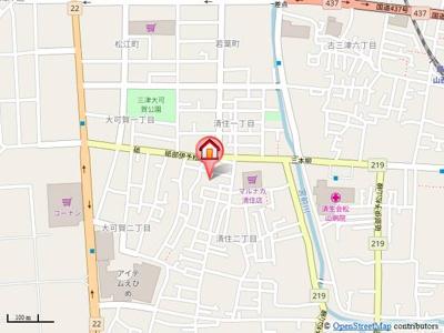【地図】アリビラ