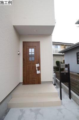 【外観:施工例】座間市入谷東3期 新築戸建て 全2棟 【仲介手数料無料】
