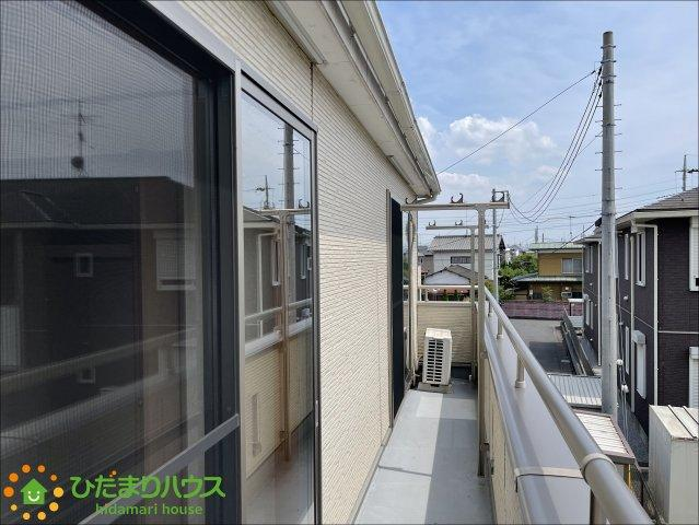 【バルコニー】加須市旗井1丁目 中古一戸建て
