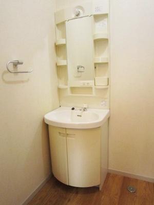 ファミリータイプには必ず欲しい独立洗面台もバッチリ完備!忙しい朝の準備もラクラクできちゃいます♪※参考写真※