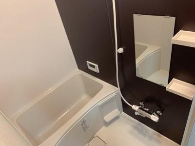 浴槽にあります。