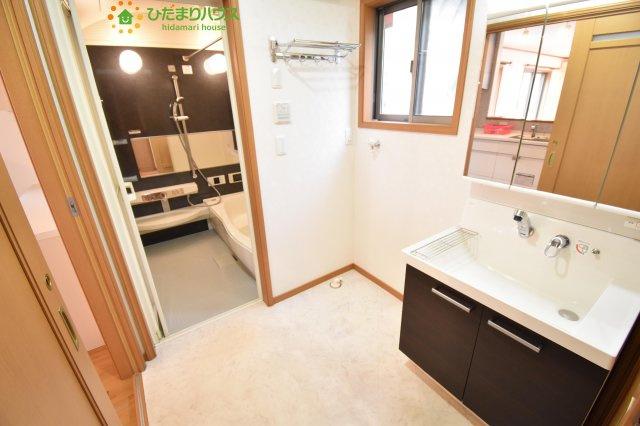 【洗面所】北区奈良町 中古一戸建て