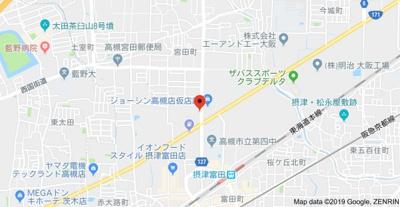 【地図】寺田ビル別館 (株)Roots