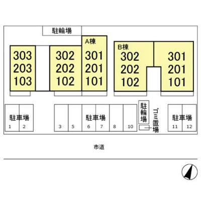 【区画図】D-room与野公園 A
