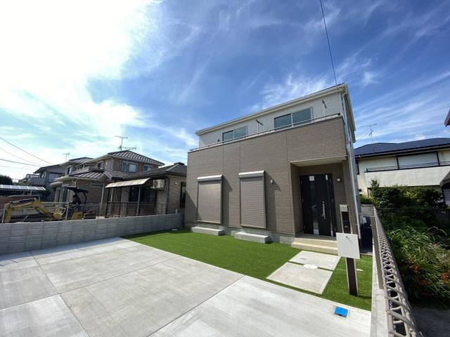 建物は述べ約28.6坪で全居室6帖以上の間取りです。