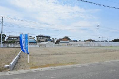 【外観】鴻巣市愛の町 売地全2区画