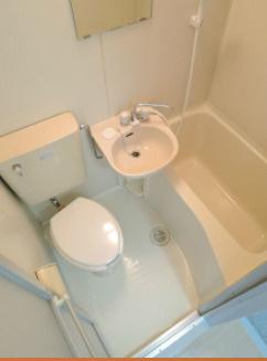 【浴室】ベルメゾン・ロゼ