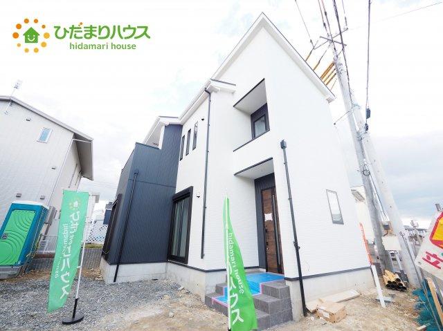 【前面道路含む現地写真】日立市川尻町3期 新築戸建 3号棟