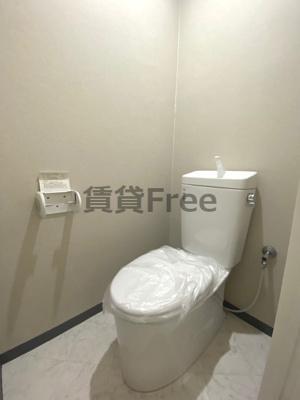 【トイレ】ウエストハウス今里 仲介手数料無料