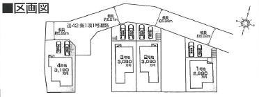 【区画図】ファーストタウン大津市第3秋葉台
