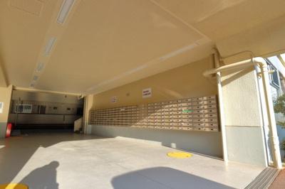 メールボックス設置場所です。