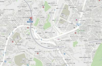 【地図】夢野ハイタウン1号棟