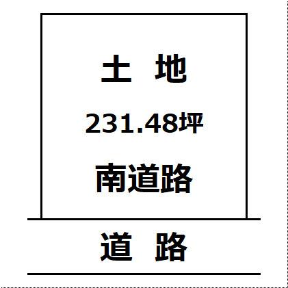【土地図】大仙市刈和野の住宅用地